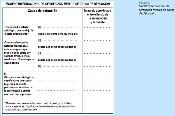 Errores en la confección del Certificado Médico de Defunción - MTM