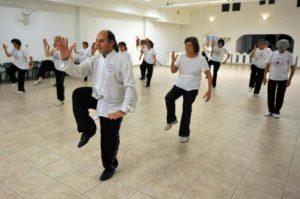 Ejercicios para el equilibrio: Tai Chi